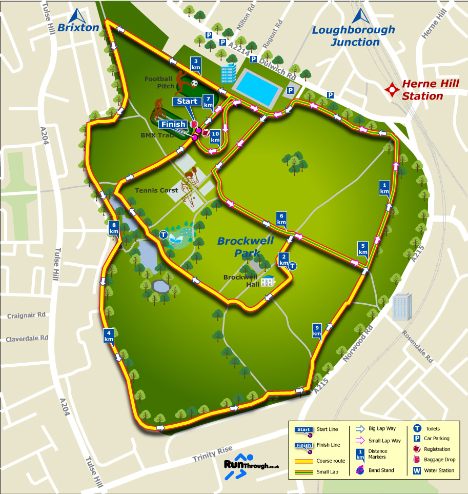 brixton-course-map