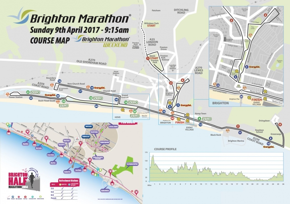 Ongebruikt Race Review : Brighton Marathon – Runners Knees OL-47