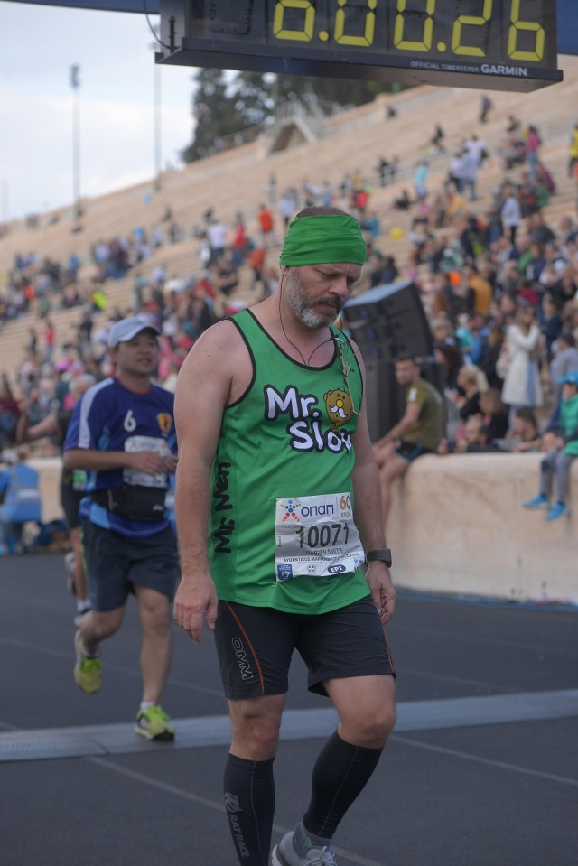 Race Review – The Authentic Athens Marathon (Second Running) – Runners Knees